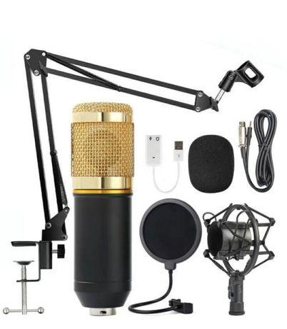 Студийный микрофон со стойкой и фильтрами