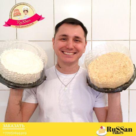 """Торты на заказ """"RuSSan Cakes"""" ГРЭС, Алматы"""