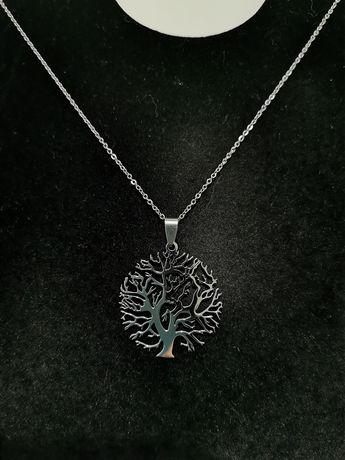 Lănțișor cu medalion Tree of Wisdom