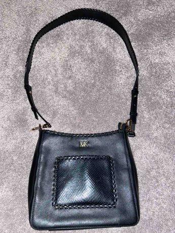 Michael Kors - дамска оригинална кожена чанта за през рамо