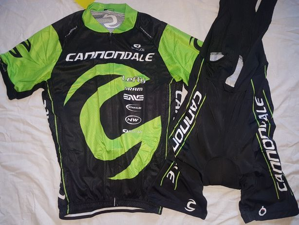 Echipament ciclism Cannondale Lefty 2019 NOU set tricou si pantaloni