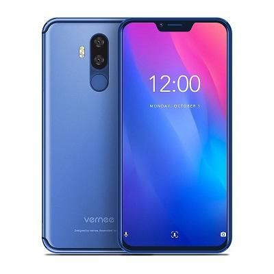 Vernee M8 Pro 6'2 FHD+/Helio P60/6GB+64GB/16MP+13MP/NFC/Qi Charge/Blue