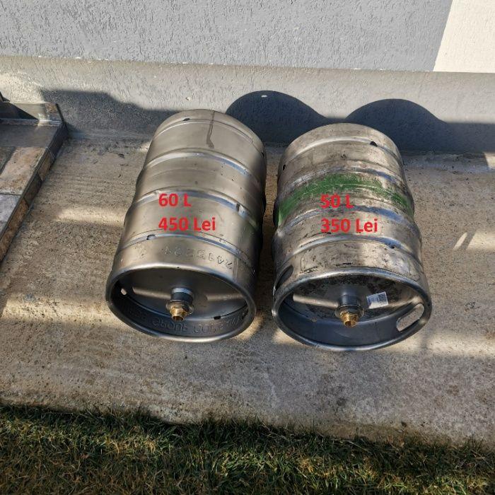 Bazin hidrofor inox din butoi de bere Reconditionat 60L