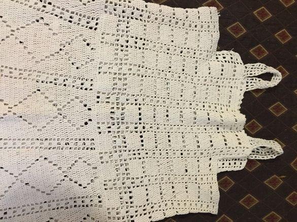 Стара,плетена на една кука памучна долна дреха!От 1930 г. Запазена!
