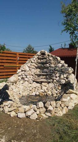 Vind și montez piatră naturala /execut grătare, cascade