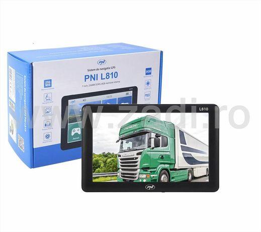 Gps camion, PNI L810- program cu harti- ecran mare-garantie 2 ani