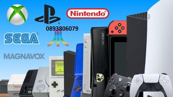 Поправям и ремонтирам Sony ps3/4, ps5, Pro и Xbox360 ,PSP