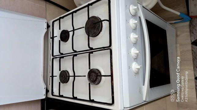 Кухонный газ плита 4-комфор