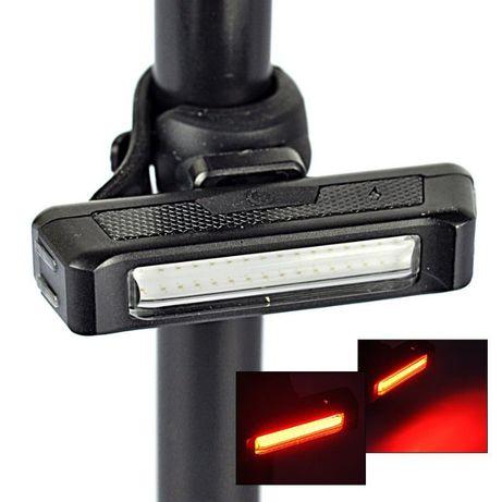 Raypal Comet stop lanterna far bicicleta USB rosu 100 lumens
