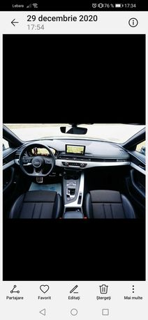 Audi A4 b9 sline 2017 de vanzare