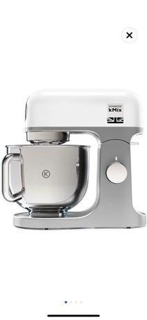Robot De Bucatarie Kenwood Chef KMX750WH,1000W,6 Trepte,Bol Inox 5L.e