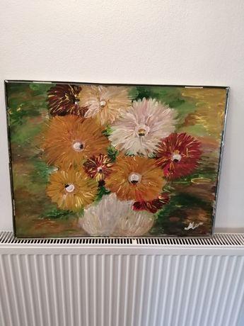 Tablou pictat pe placaj 60-80