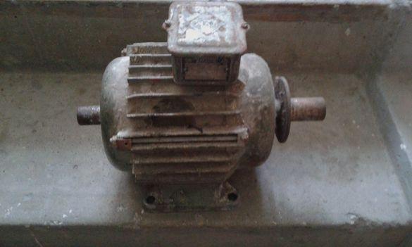 Ел.мотор и настолен шмиргел