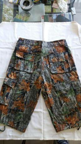 Pantaloni vanatoare, pescuit- model camuflaj 3 D