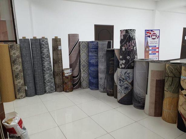 Ковры и коврики, ковровые дорожки Метражом, разная ширина 60-180см