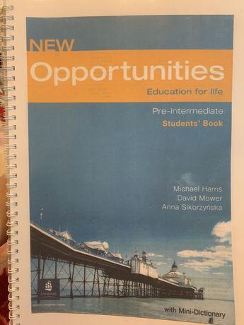 New opportunities Pre-Intermediate (Students' Book/Language Powerbook)