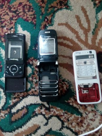 Корпуса от сотовых телефонов