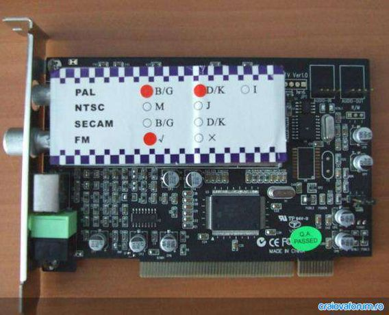 Vand TV Tuner pentru PC model ST.Lab PCI/TV/AV/FM