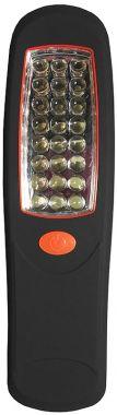 Lanterna, cu LED-uri, suport pentru fixare, magnet pt. fixare