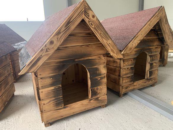Кучешки колиби от ламперия