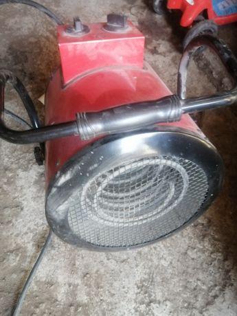 Тепловая пушка, электрическая