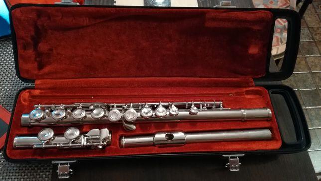 Flaut YAMAHA argintat