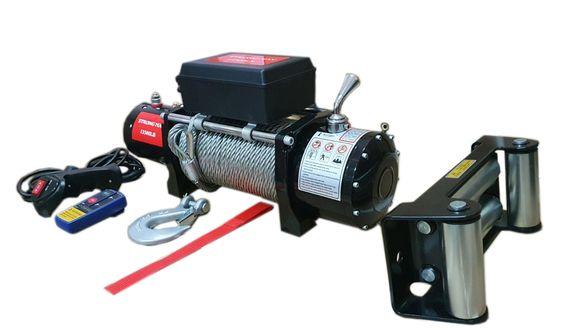 Електрическа Лебедка Strong Max 12V-6136 Кг. 13500 LB WINCH Телфери