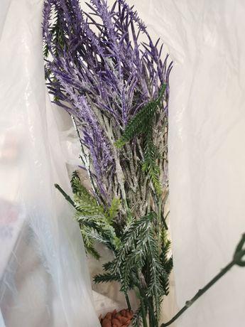 Искусственные ветки ели для декора, растения