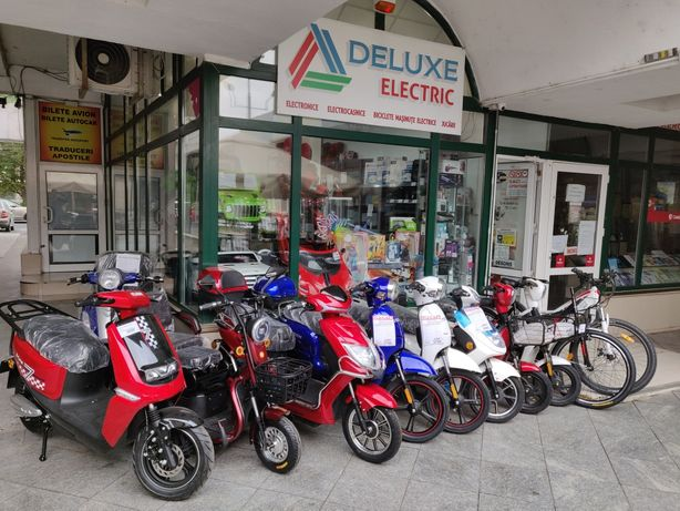 DELUXE ELECTRIC Magazin de Biciclete Electrice, Scutere ZTECH Bike NOU