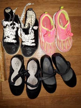 обувь на девочку б\у вхорошем состоянии