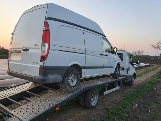 Dezmembrez Mercedes vito viano usi spate model înalt motor cardan cuti