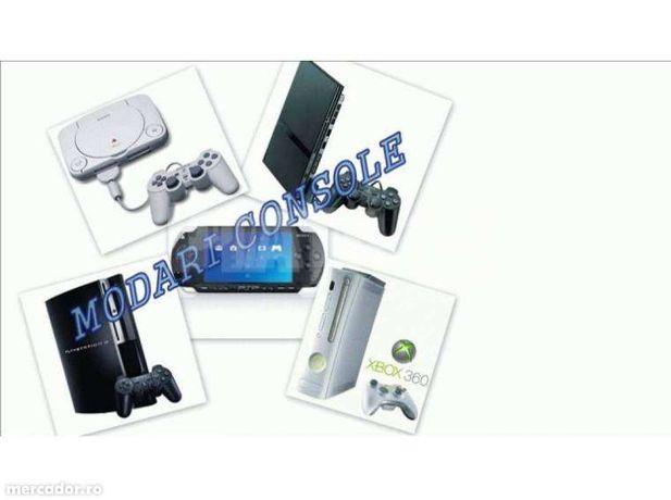 Modari console Xbox 360, PSP, PS VITA , PS1, PS2, PS3 ,WII si reparati