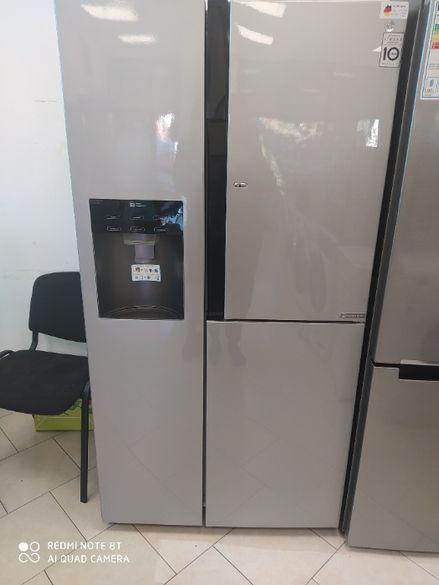 Хладилник Side by side LG Door in Door GS9366PZYZD No Frost, 540 л, Кл