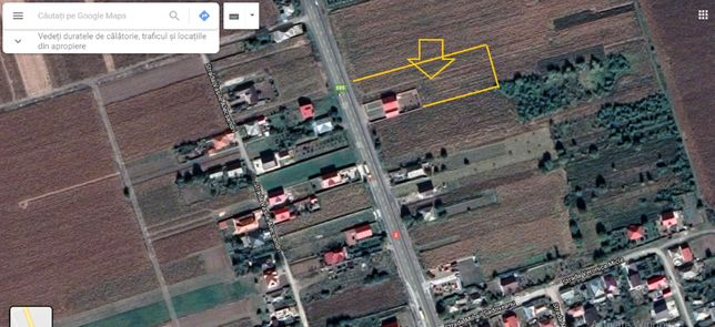 Vând teren intravilan în Traian la e85