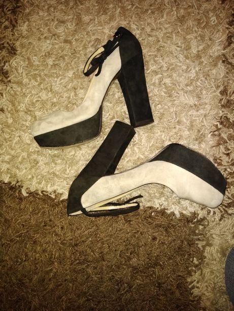 Pantofi Twin-set by Simona Barbieri piele naturala