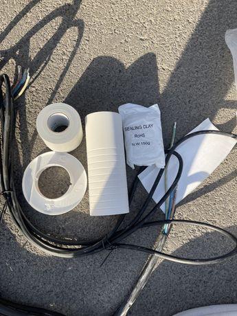 Кондиционер  монтажный набор 3 метра медные трубки дренажный шланг