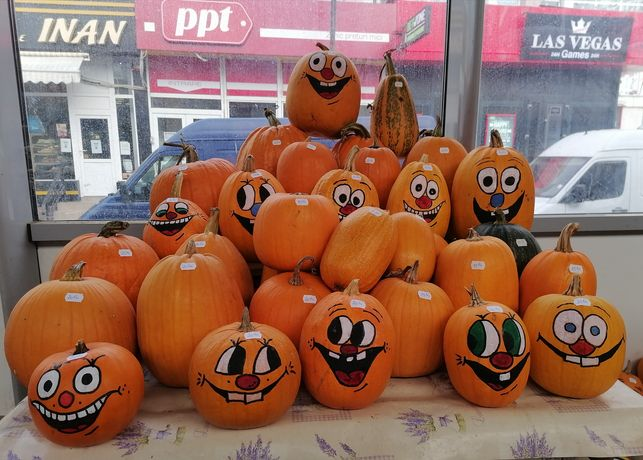 Bostani de Halloween