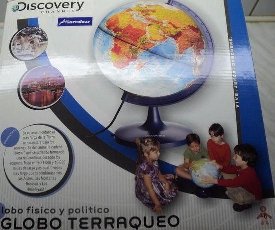 Glob Geografic Luminos Discovery NOU