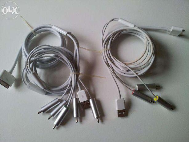 Apple Cablu TV Iesire Audio-Video-Ipod-Iphone-ipad