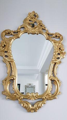Oglindă aurie  stil barock,  model deosebit