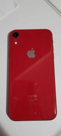 iPhone XR 128gb Product Red with lightning dock, charger and headphone