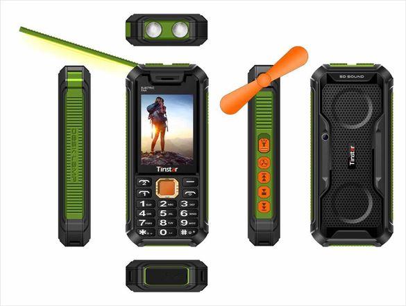 Ново! 2021 8800mAh Телефон с меню на български! Удароустойчив телефон