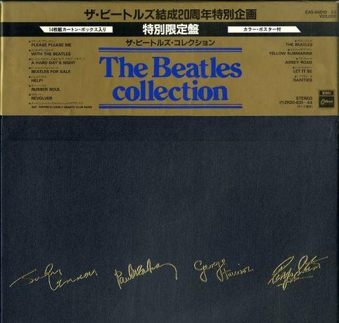 Виниловые пластинки -The Beatles collection.