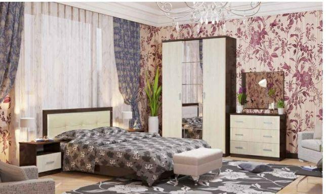 Спальные гарнитуры Диана 3д в наличии