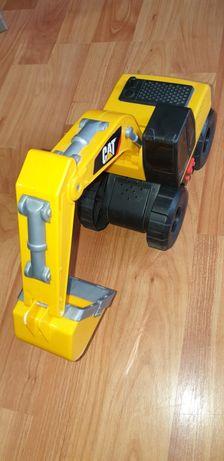 Excavator cu baterii Jucarie Cat, efecte luminoase si sonore