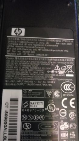 Încărcător laptop HP, 18,5v,19v,19,5v