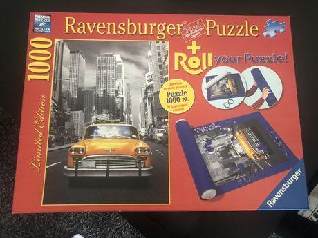 Puzzle Ravensburger 1000 de piese + Roll inclus