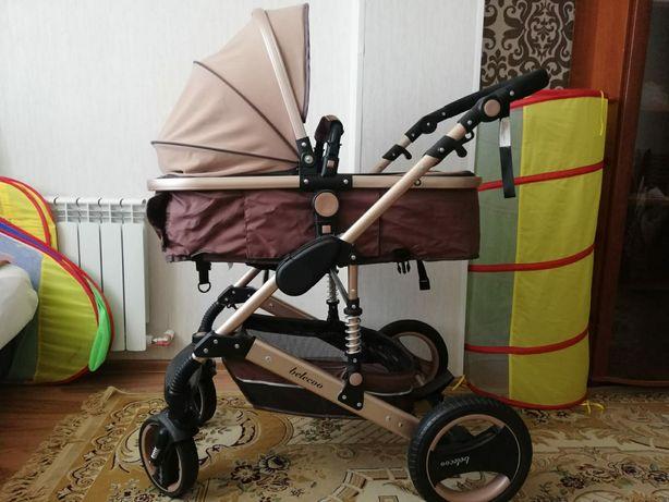Продам детскую коляску трансформер.