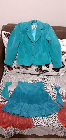 Sacou, fusta și cravate, uniforma scolara