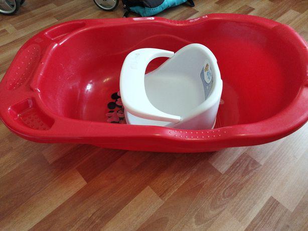 Ванна и стульчик